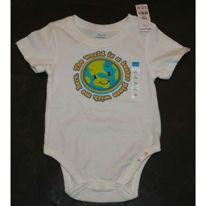 NWT Children's World Better Place With Me Bodysuit